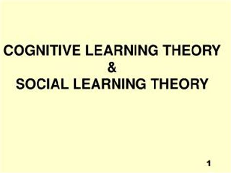 Behavioral And Social Learning Theories Essay